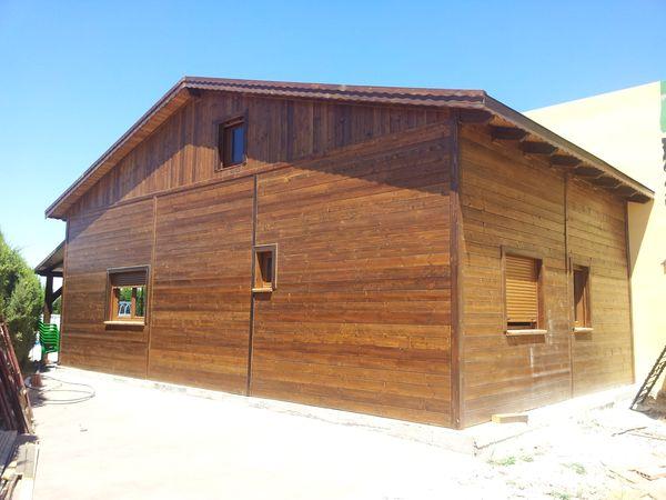 Casa de madera modelo alcala for Casas de madera murcia