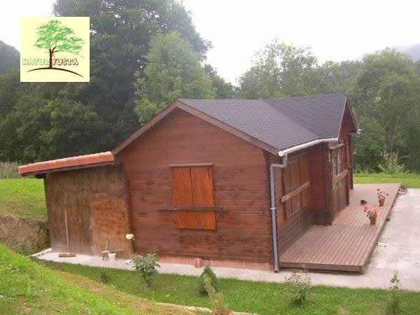 Casas de madera modelo cantabria - Casas en cantabria ...
