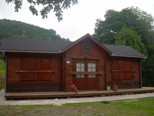 Casa de madera modelo cantabria for Casas de madera murcia