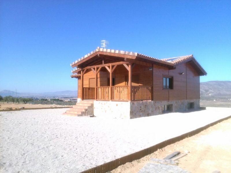 Casa de madera modelo carrion - Casas de madera crevillente ...