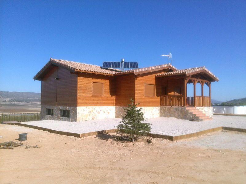Casas de madera crevillente affordable casas de madera alicante with casas de madera - Casas de madera crevillente ...