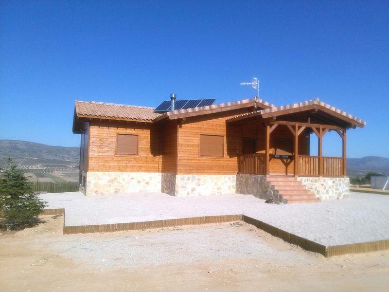Casa de madera modelo carrion for Casas de madera murcia