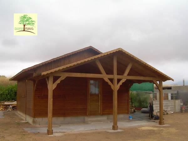 Casas de madera alicante murcia y albacete for Casas de madera murcia