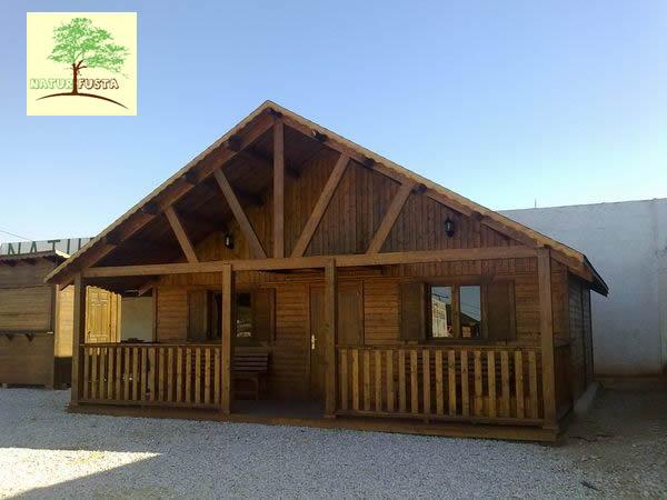 Casa de madera modelo natura for Casas de madera murcia