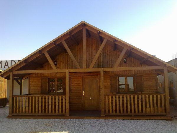 Casa de madera modelo natura - Casas de madera crevillente ...