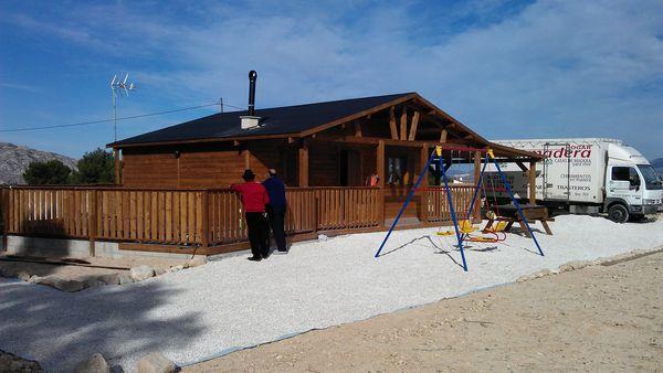 Casas prefabricadas madera casas de madera crevillente - Refugios de madera prefabricados ...