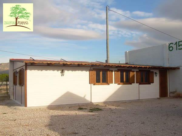 Casa de madera modelo ofis - Casas de madera crevillente ...
