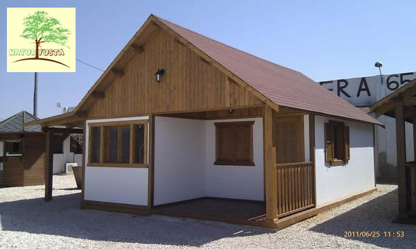 Casa de madera modelo pladur - Casas con buhardilla ...