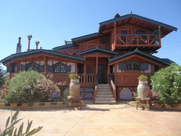 Casa de madera modelo tomas - Casas de madera crevillente ...
