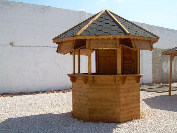 Chiringuitos prefabricadas de madera for Alquiler chiringuito madera