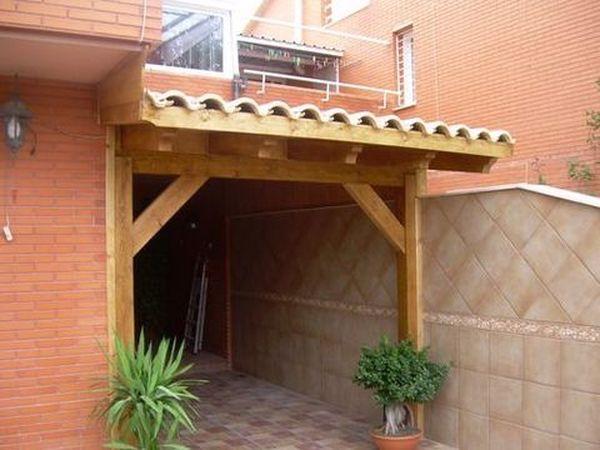 Garaje de madera modelo 01 - Garage de madera ...