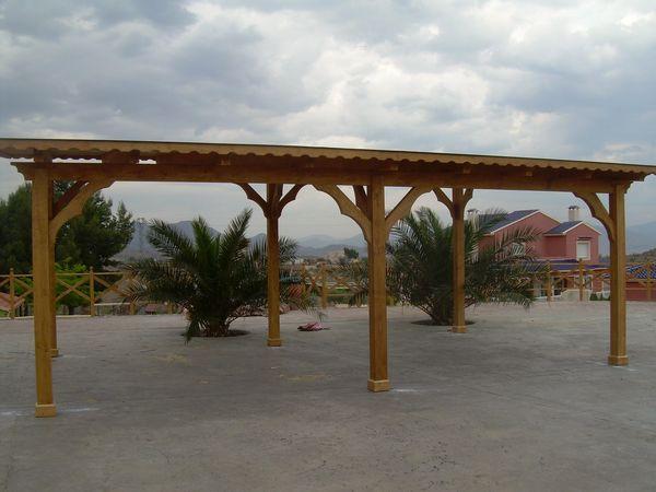 Garaje de madera modelo 04 - Garajes de madera baratos ...