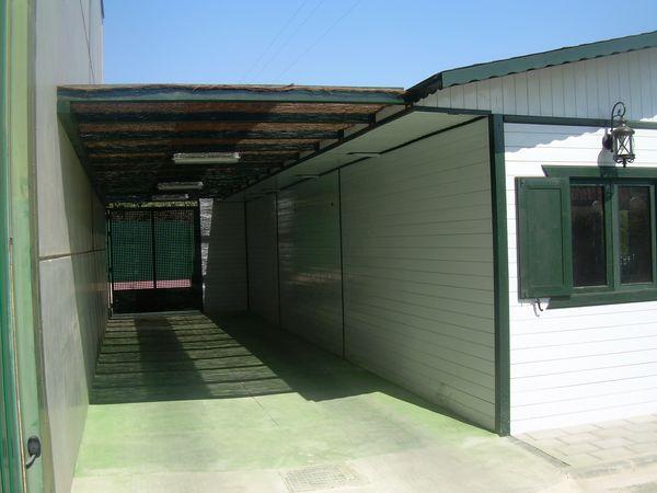 Garaje de madera modelo 05 for Garajes modelos
