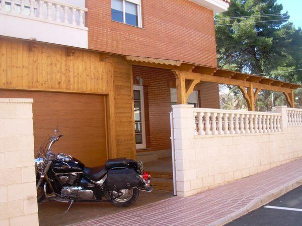 Garaje de madera modelo 06 for Garajes modelos