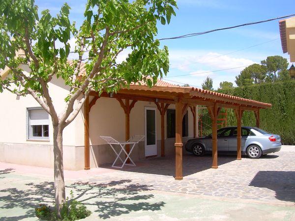 Garaje de madera modelo 07 - Trasteros de madera para jardin ...