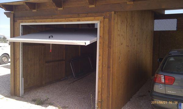 Garaje de madera modelo 10 for Modelos de garajes