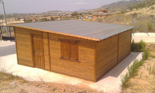 Garaje de madera modelo 11 - Garajes prefabricados de madera ...