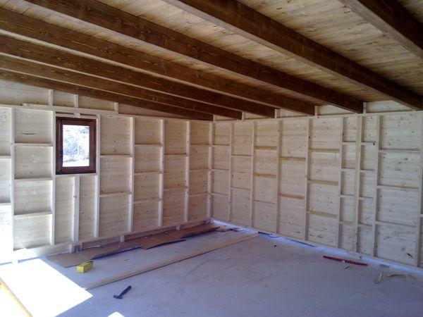 Garaje de madera modelo 11 for Garajes modelos