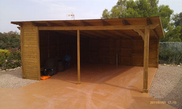 garajes prefabricadas de madera