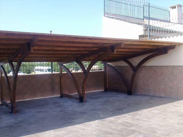 Garaje de madera modelo 14 for Garajes modelos