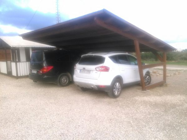 Garaje de madera modelo 16 for Garajes modelos