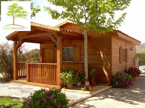 Ofertas casas de madera for Casetas de jardin con porche