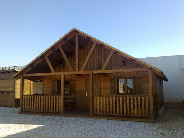 Ofertas casas de madera - Techos para casas de madera ...