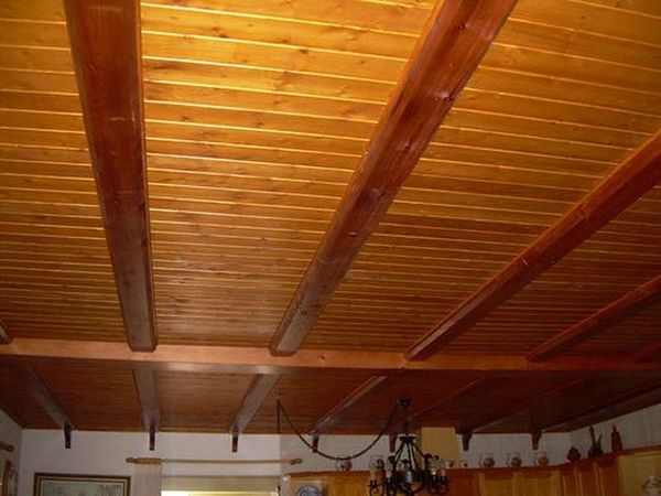 Revestimientos con madera - Madera para techos interiores ...