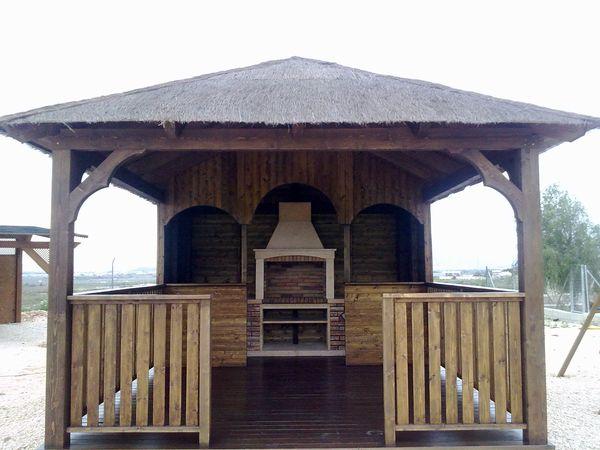 Pergolas prefabricadas de madera - Modelos de pergolas ...