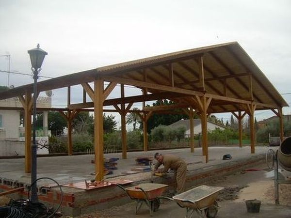 Pergolas de madera alicante finest slide background with - Pergolas de madera alicante ...