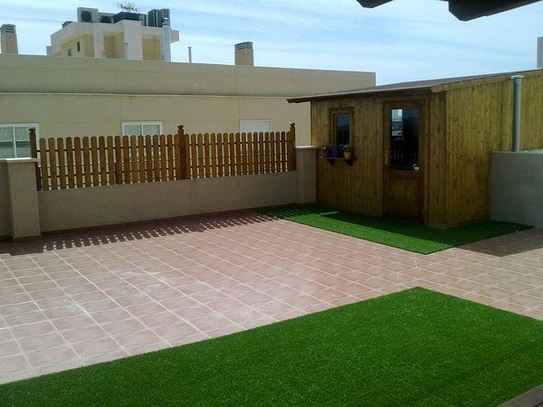 Trastero de madera modelo 01 for Trastero jardin